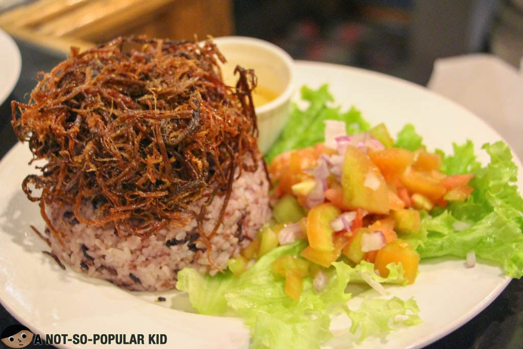 Tita Susie's Crunchy Tapa in Cafe by the Ruins