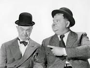 Hardy Oliver y Stan Laurel