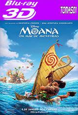 Moana: Un mar de aventuras (2016) 3D SBS DTS