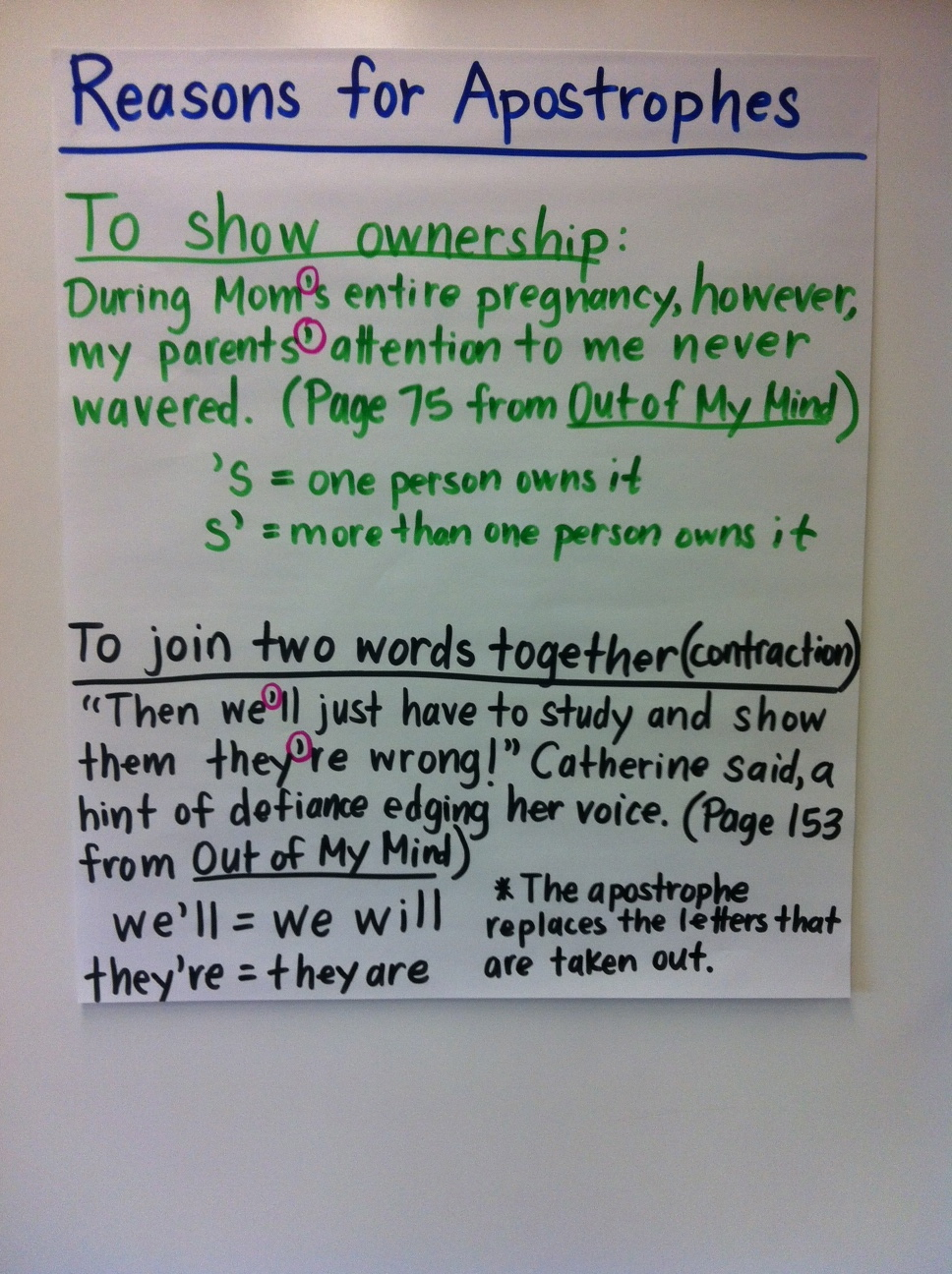 Apostrophes on Pinterest : Anchor Charts, Worksheets and Possessive Nouns