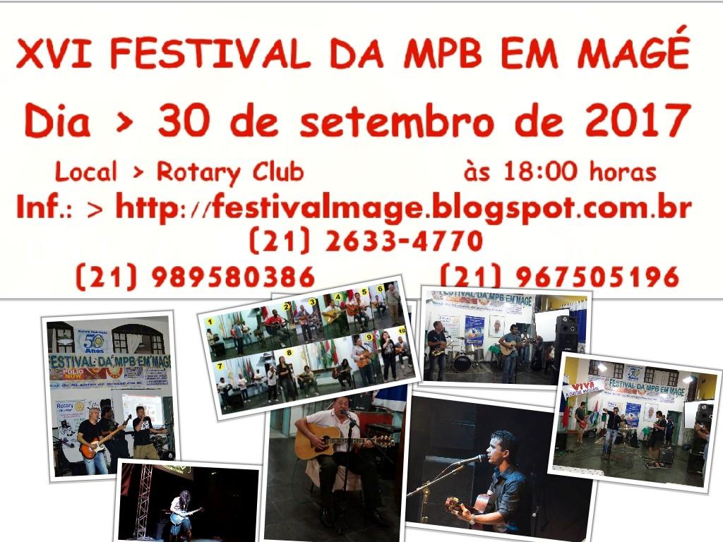 XVI FESTIVAL DA MPB EM MAGÉ