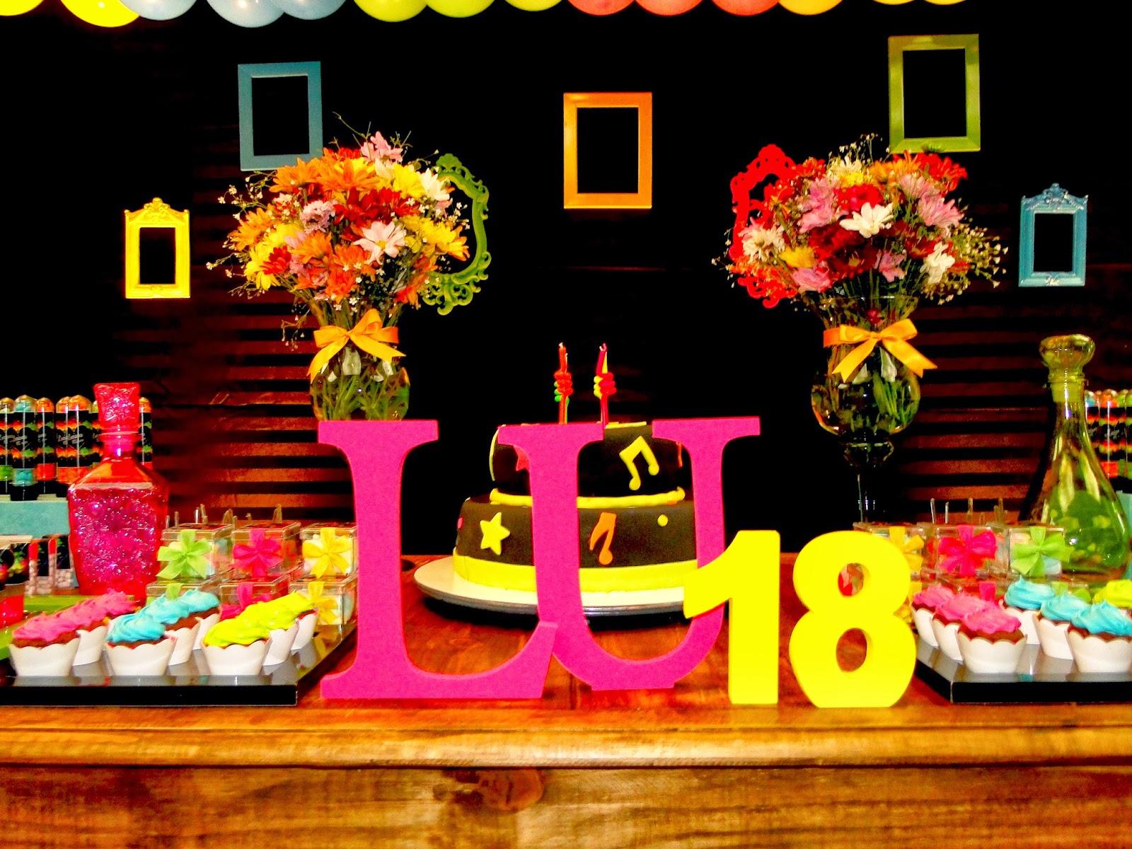 decoracao festa neon:Festejar Ateliê de Festas e Lembrancinhas: Neon Party para Luciana !