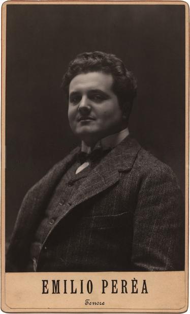 GREAT ITALIAN TENOR EMILIO PEREA (1884-1946) CD
