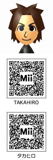 TAKAHIRO(EXILE)のMii QRコード トモコレ新生活
