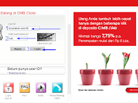 Cara Login CIMB Clicks Internet Banking