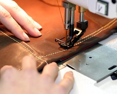 Сшить вязаные детали на швейной машинке 47