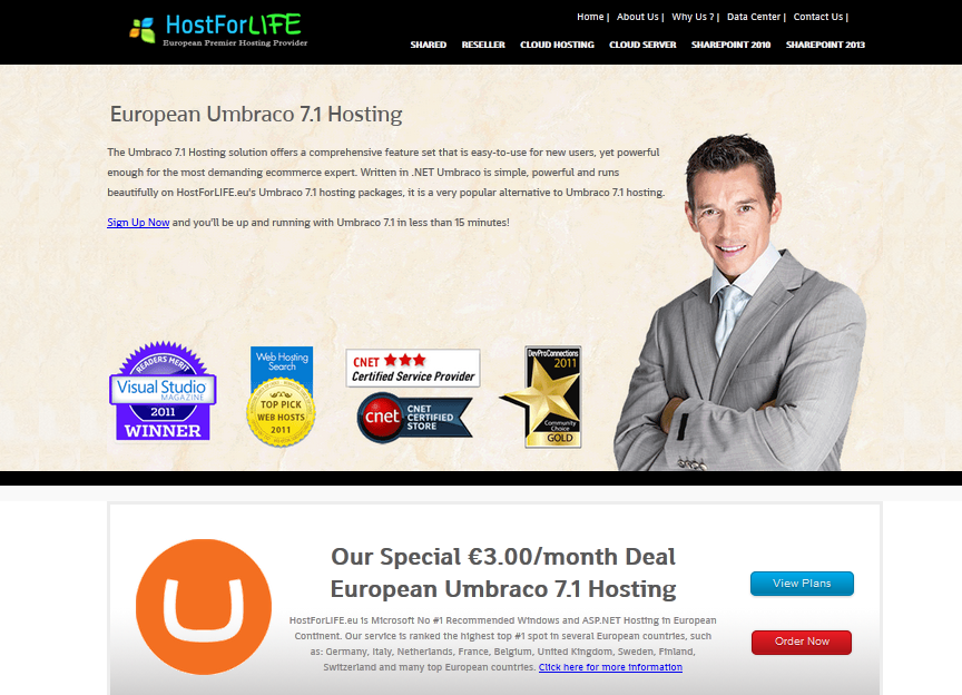 Who Offers the Best Umbraco 7.1 Hosting in 2014?