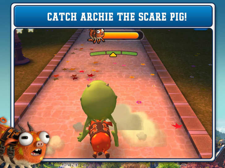 Monsters University: Catch Archie App iTunes App By Disney - FreeApps.ws