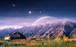 Imágenes del espacio y los planetas