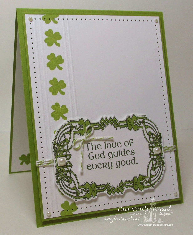 ODBD St. Patrick's Day, Card Designer Angie Crockett