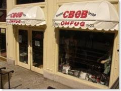 CBGB Shop