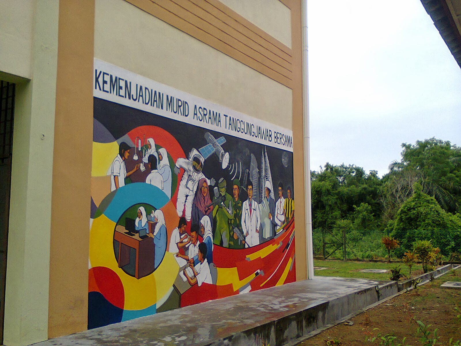 Murals sculptures artistic construction 014 6417833 for Mural sekolah