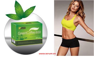 Green coffee 800 cafe xanh giảm cân