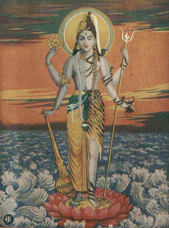 harihara standing vishnu shiva