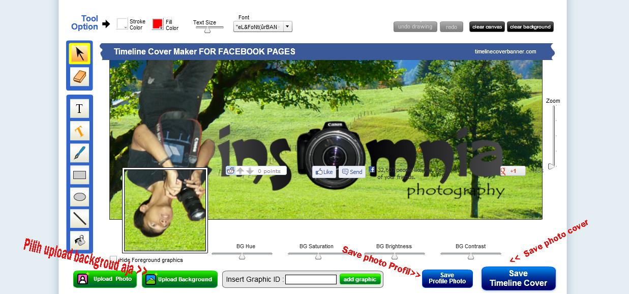 Cara Membuat Foto Sampul Menyatu Dengan Foto Profil Di /page/3