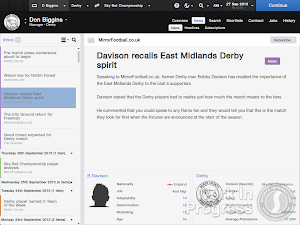 FM14 Ex-player Pre-match comments