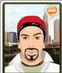 Avatar creado en Voki