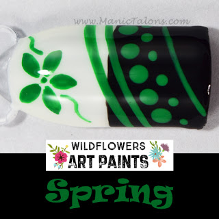 Wildflowers Nail Art Paint Spring