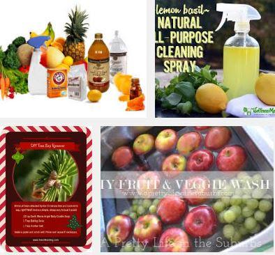 Pesticide remover spray