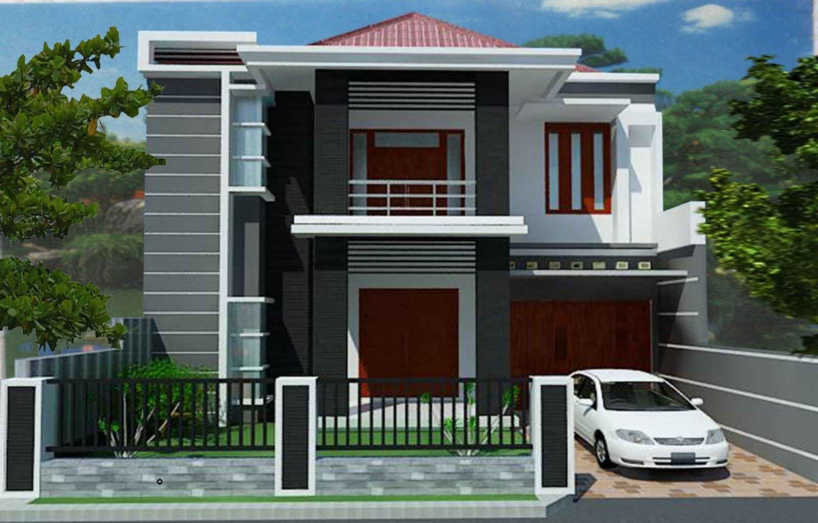 Biaya Membangun Rumah Minimalis 2 Lantai Sederhana