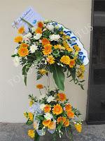standing bunga duka cita murah di toko bunga jakarta