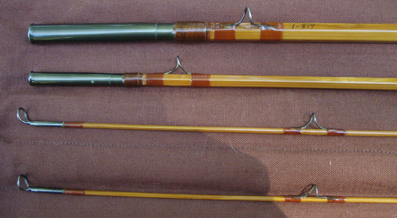Salmon fishing in scotland wooden rods for Wooden fishing pole