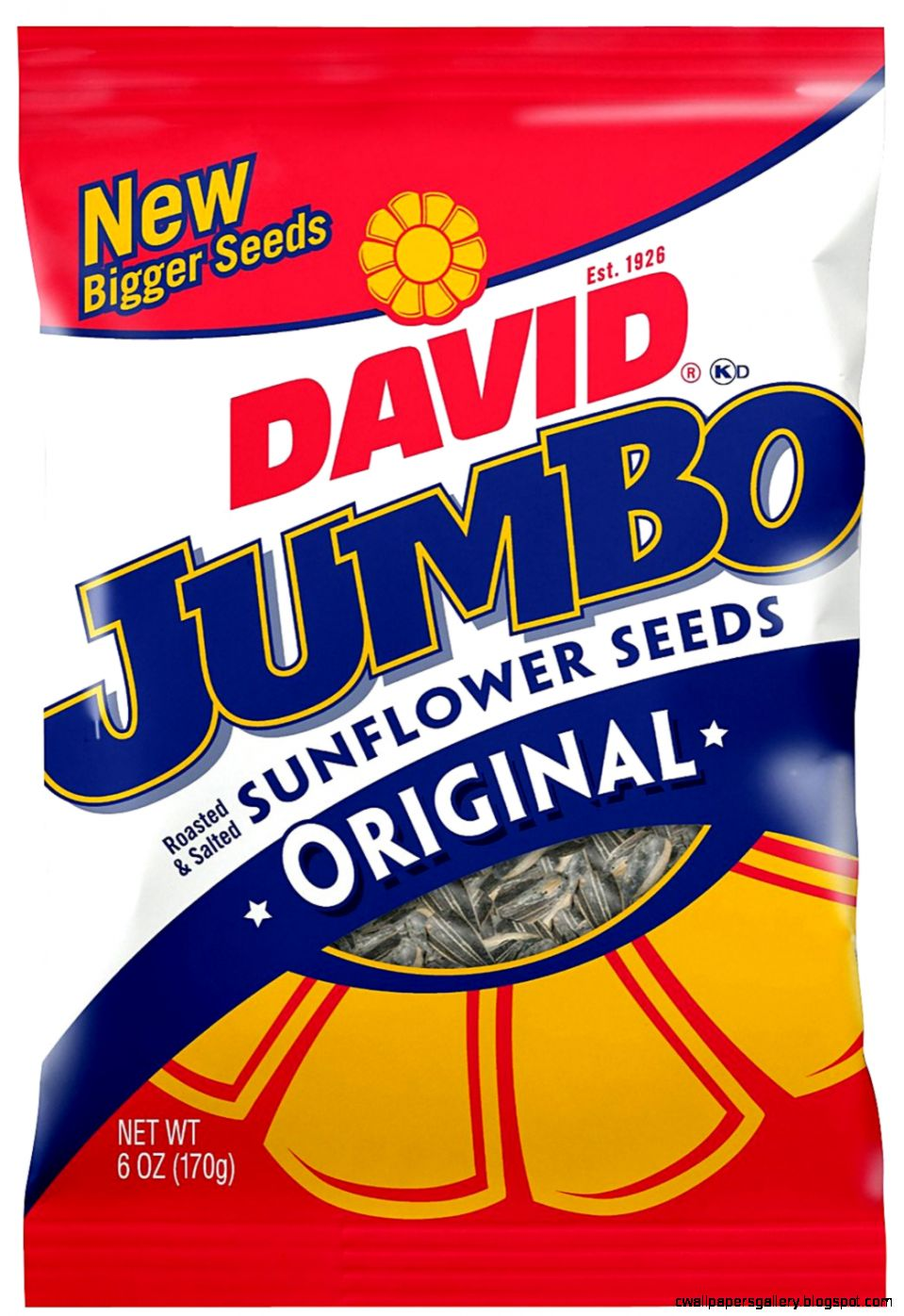 David Seeds Jumbo Original Sunflower Seeds 5 oz 10 pk