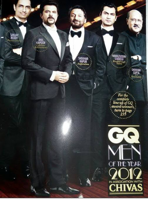 GQ India October 2012