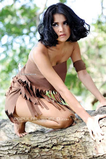 Laras Monca for Popular World Magazine, April 2013 (Part 1)