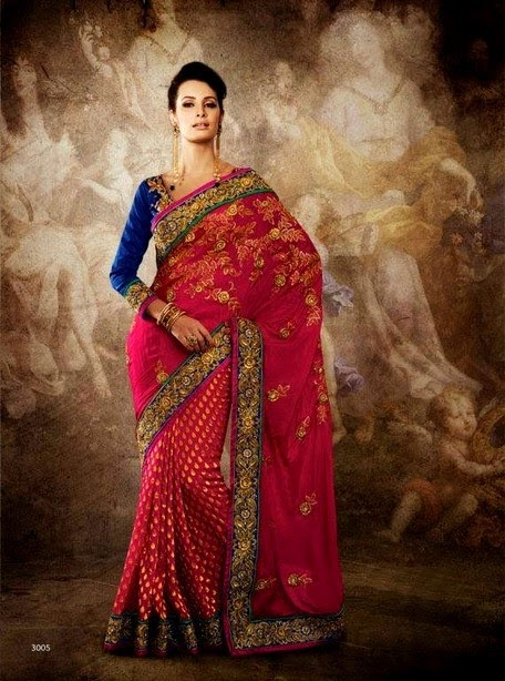 Latest Designer Luxury Saree Fashion