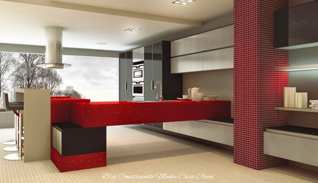 decoracao cozinha bege: de consumo essa cozinha cinza com vermelho, marrom, preto e bege