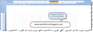 Marcas de agua en Excel.