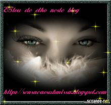 Selo Estou de Olho no Seu Blog,