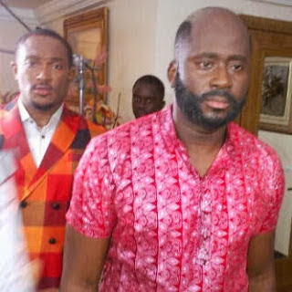 Desmond Elliot goes bald