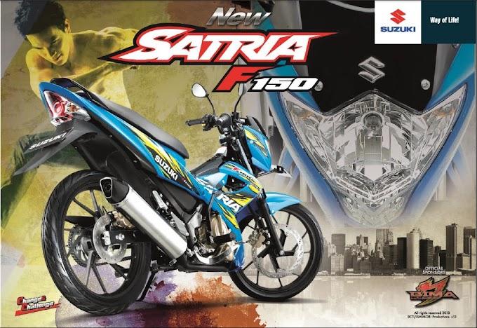 5 Pilihan Warna Suzuki Satria F150 2013