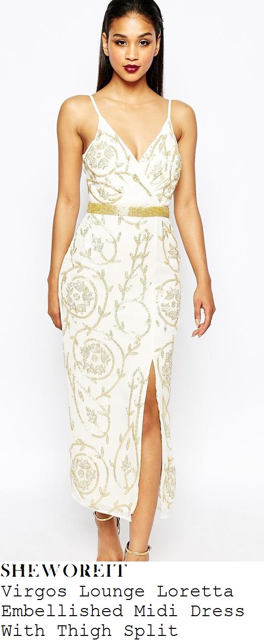 lydia-bright-cream-gold-embellished-sleeveless-midi-dress