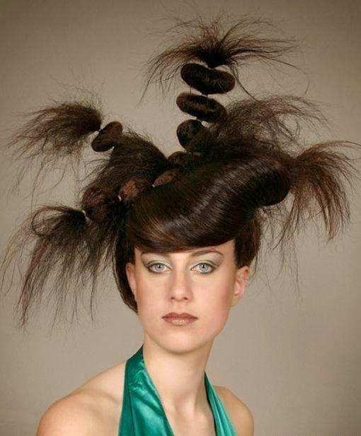 imagenes, fantasia y color Los peinados más extravagantes, locos y raros del mundo.