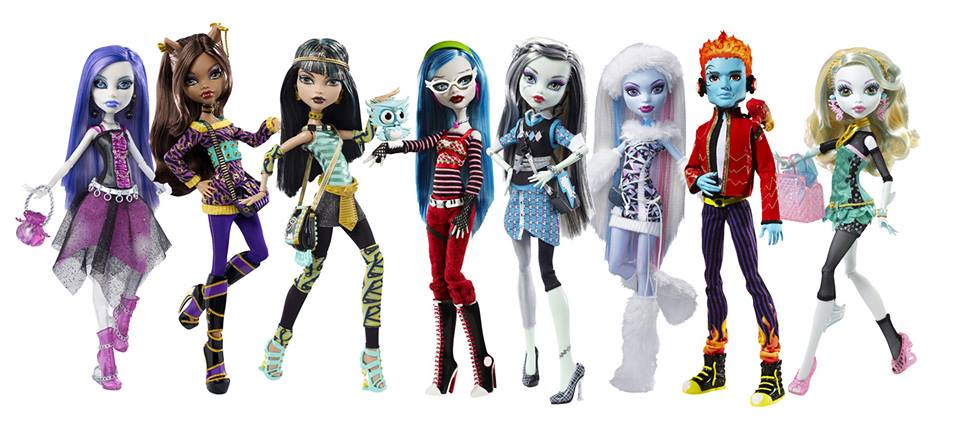 Complete List of All Monster High Dolls  New Releases  2016