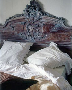 Baroque Headboard via Campagne edited by lb for (l&l)