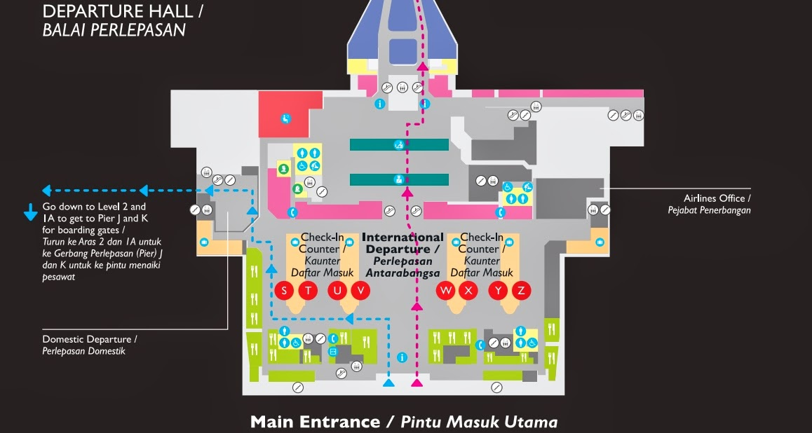 CLICK FOR LARGE MAP OF KLIA2