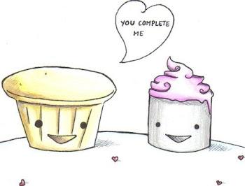 Muffin & Cupcake!(: