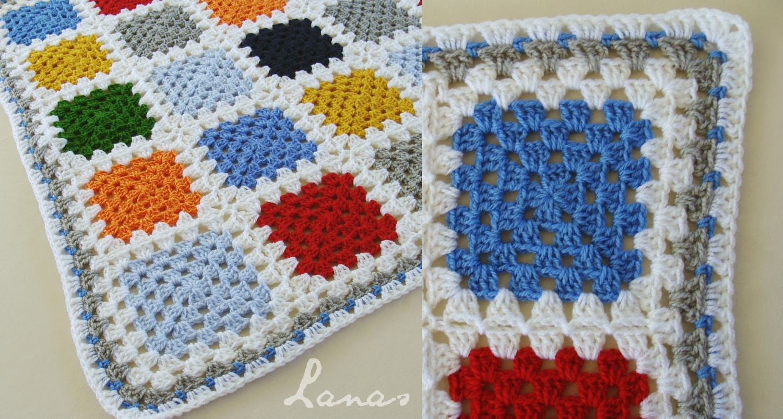 Mood Manta: Granny Azulejos