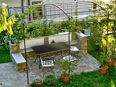 Desain Taman Kecil Halaman Depan Rumah Minimalis