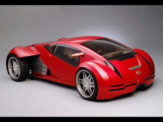 Lexus rojo