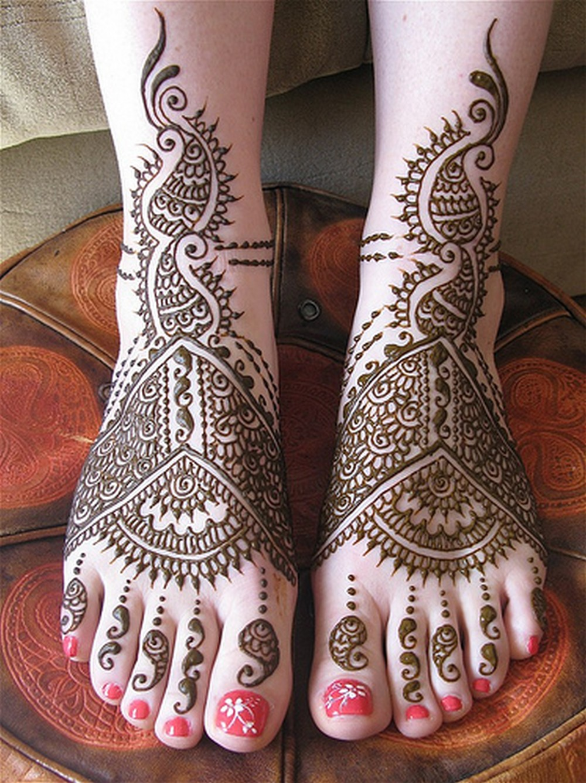 18 Fashion Indian Wedding Mehndi Designs