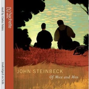 an analysis of the characters of george and lenny in the novel of mice and men by john steinbeck Chapter 3 john steinbeck  slim and george came into the darkening  bunkhouse together slim reached up  'course lennie's a god damn nuisance  most of the time, said george but you get  wonder if they put it in the book'  but it.