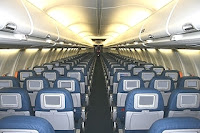 Airplane cabin