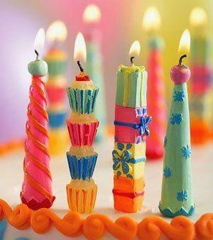 Velas para Cumpleaños Infantiles
