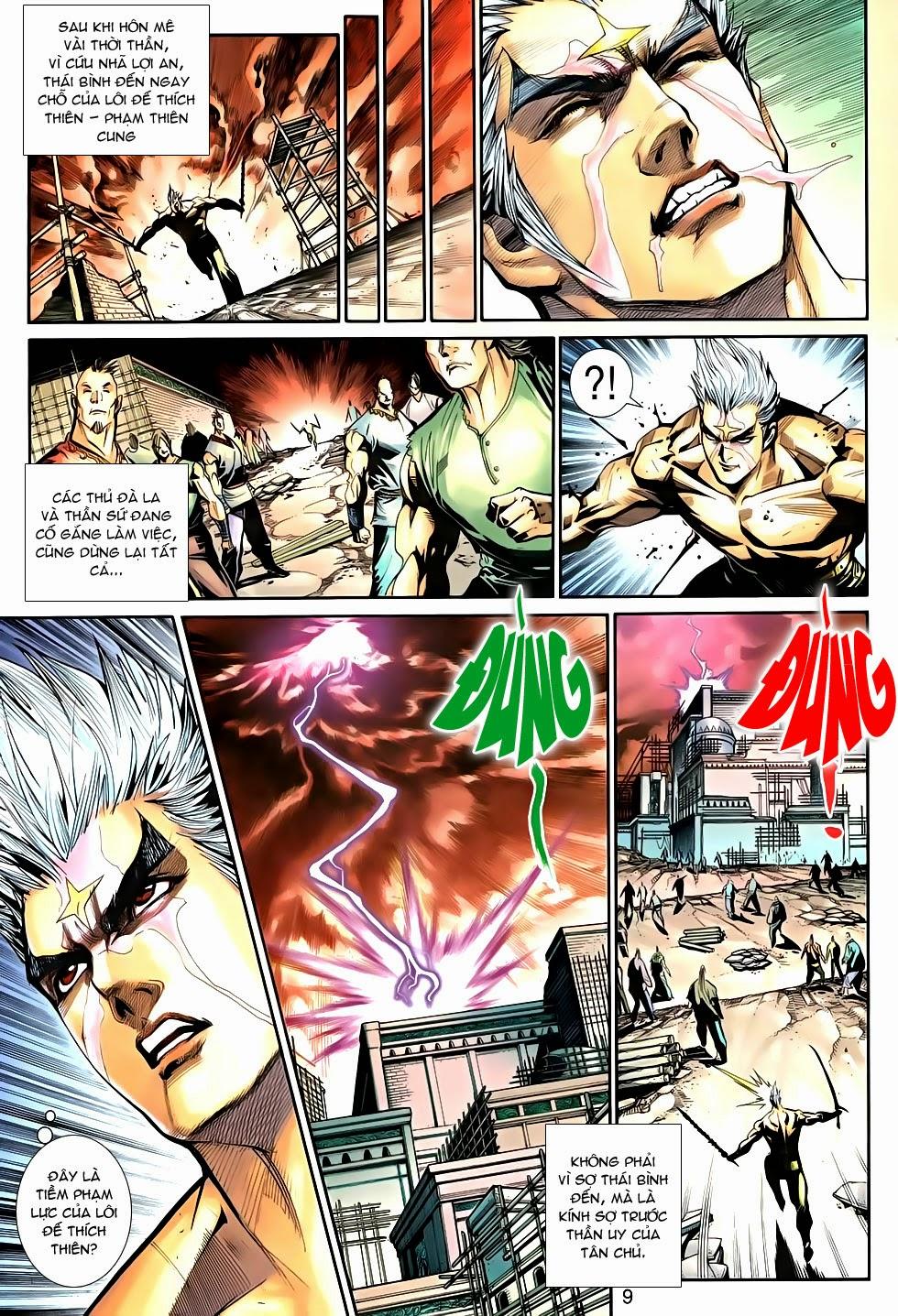 Thần Binh Tiền Truyện 2 chap 21 Trang 9 - Mangak.info