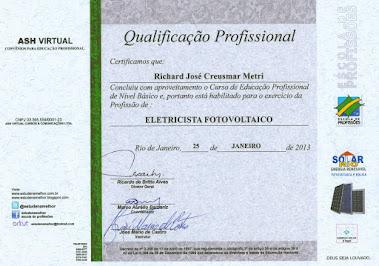 Modelo de Certificado FV/2013